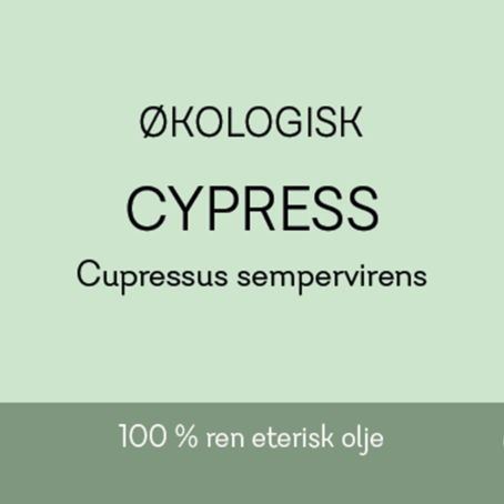 Duftapoteket-CYPRESS ØKO-Cupressus sempervirens