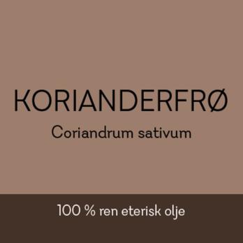 Duftapoteket-KORIANDERFRØ-Coriandrum sativum