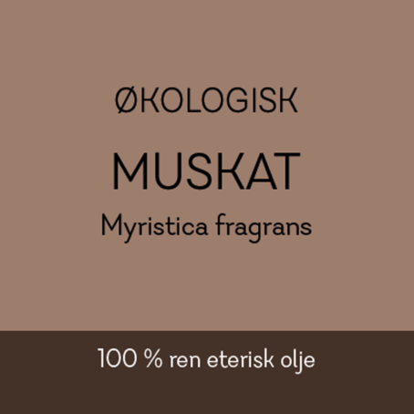 Duftapoteket-MUSKAT-Myristica fragrans