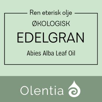 Edelgran-eterisk olje-økologisk